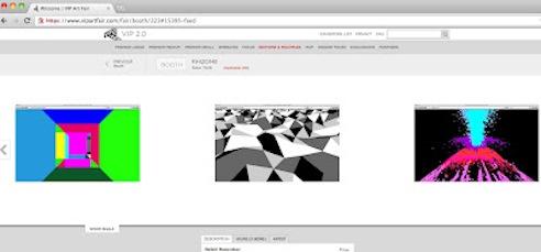 Website vip art fair
