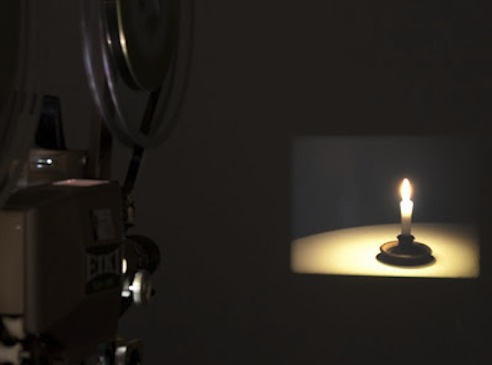 Jonathan Monk, Candle Film