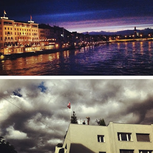 Basel by day and night