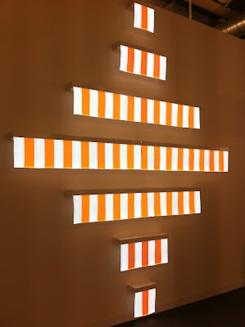 Daniel Buren at Art Basel 2012