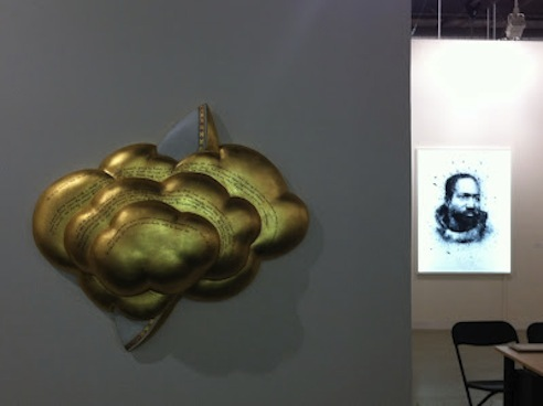 Dvir Gallery's Booth at Art Basel 2012