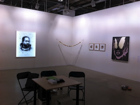 Dvir's booth at Art Basel 2012