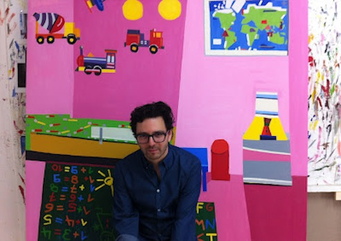 Guy Yanai at his studio