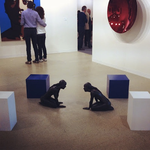 Ryan Gander at Art Basel 2012