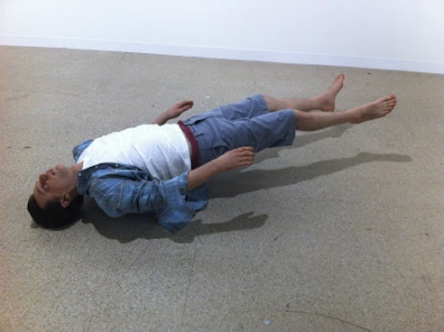 Tony Matelli at Art Basel 2012