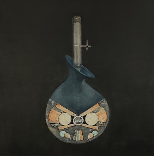 Lital Lev Cohen- Art deco vase
