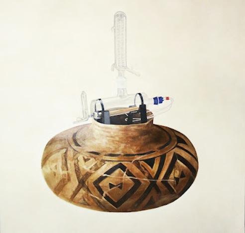 Lital Lev Cohen- Terracotta vase