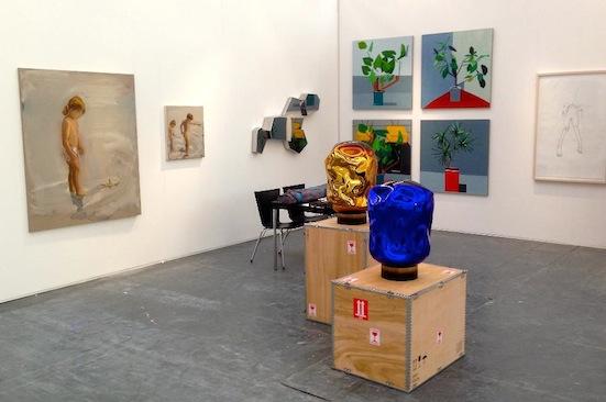 Alon Segeb Gallery's booth at Art13 London Fair