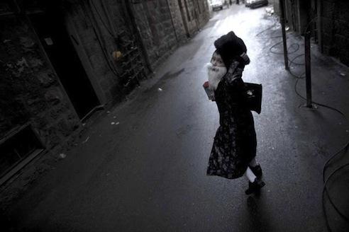 Pavel Wolberg, Jerusalem (Mea Shearim), 2010, inkjet print of color photograph, 60x90 cm