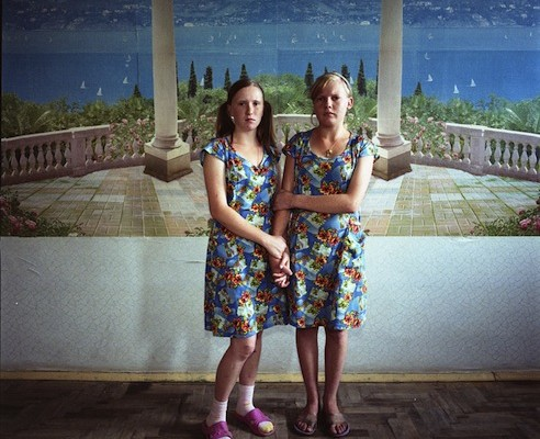 Michal Chelbin, Masha, sentenced for violence; and Sveta, sentenced for theft. Juvenile prison for girls, Ukraine, 2009