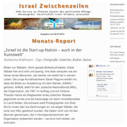IsraelSwissAssociationJuly2013
