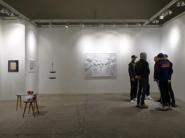 Dvir Gallery, FIAC 2013, Med res
