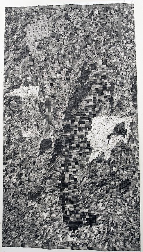 shaar aliya, silver galatine prints collage, 2013, 180x100 cm