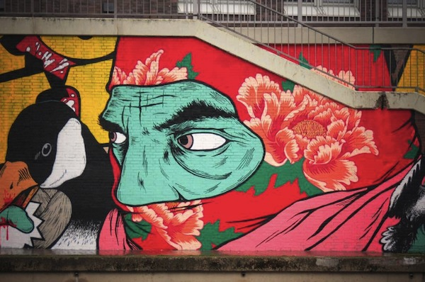 Broken Fingaz crew, Germany, 2013.